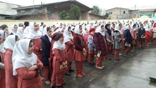 نواخته شدن زنگ نیکوکاری در مدارس مازندران