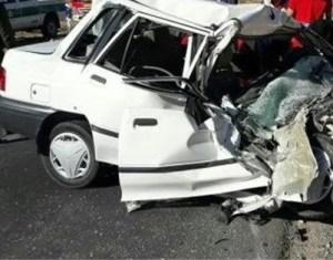 سانحه رانندگی با 5 کشته در جاده هراز