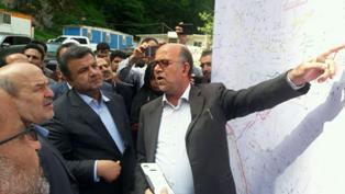 به زودی وضعیت جاده تنکابن به قزوین تعیین تکلیف می شود