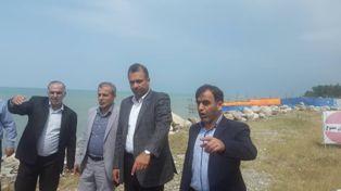آزادسازی ۵۹۴ هزار مترمربع از سواحل دریا در مازندران